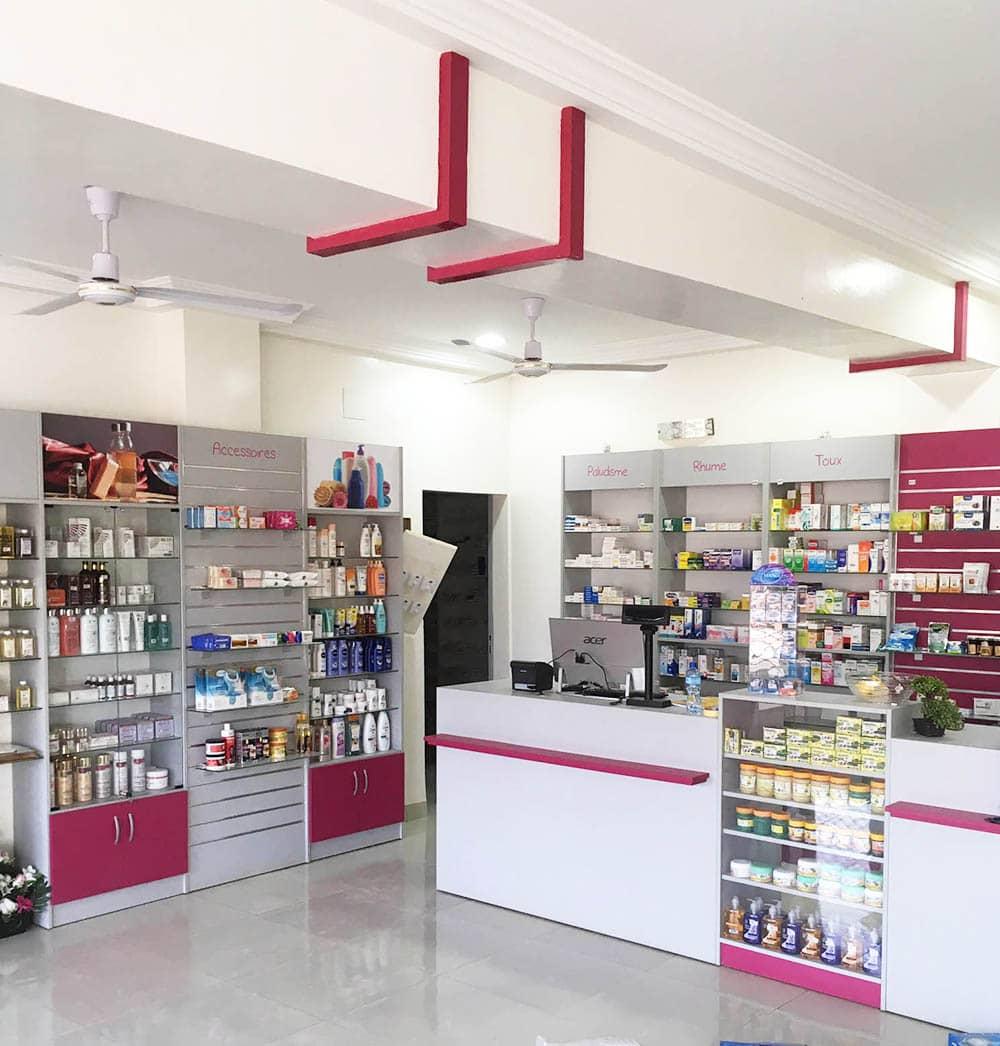 comptoir-agencement-pharmacie-niger